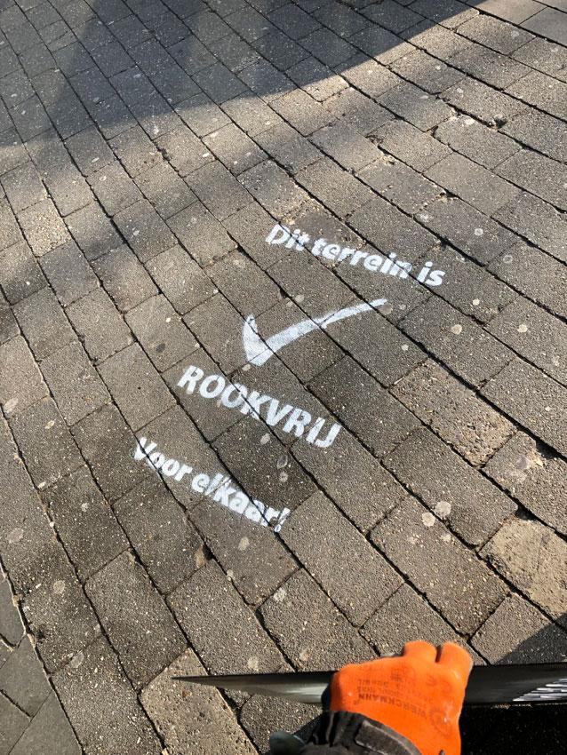 Krijt uitingen Radboud