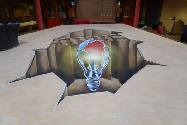 Escolas de VoBo com pintura 3d
