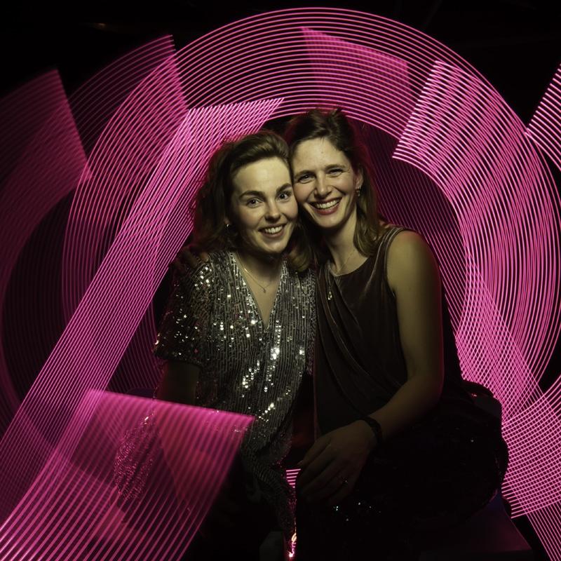 Lightpainting als photobooth
