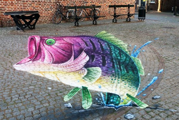 3d-grondschildering vispassage Doesburg