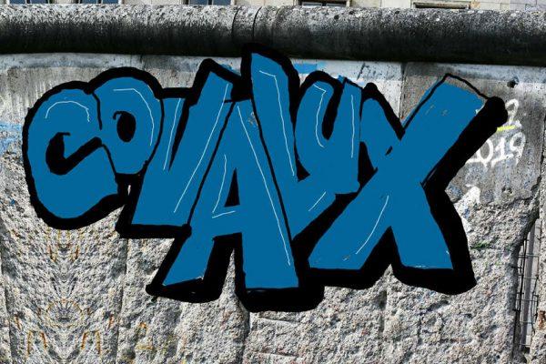 Mur d'air-graffiti Confipar