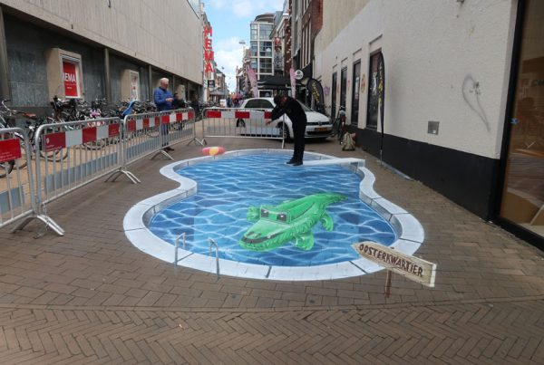 Ground painting Groningen