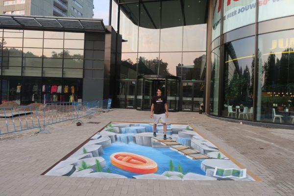 3d gatamålning Leidsenhage