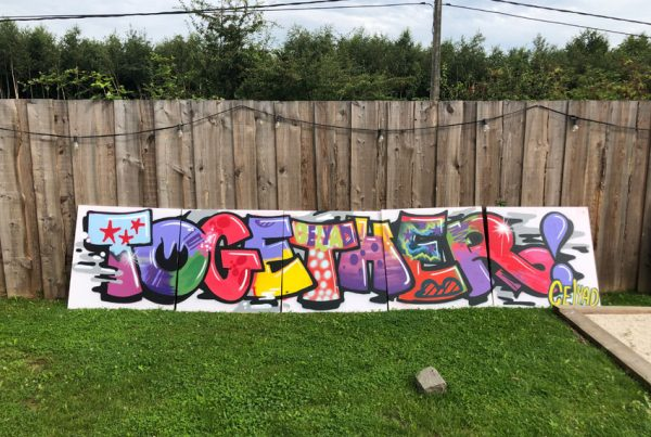 Celyad graffiti workshop