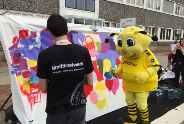 Graffiti workshop Evonik
