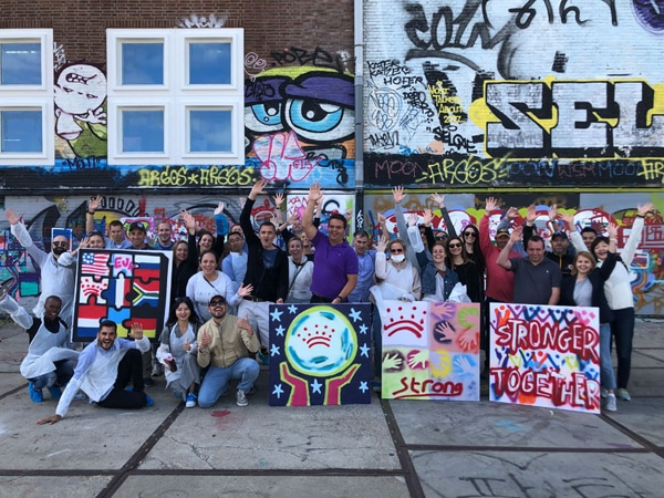 Street-art incentive Amsterdam