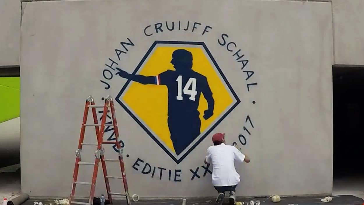 KNVB wall painting