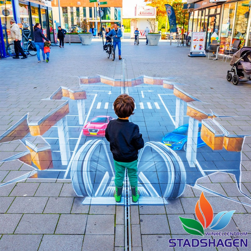 3d street painting-zwolle