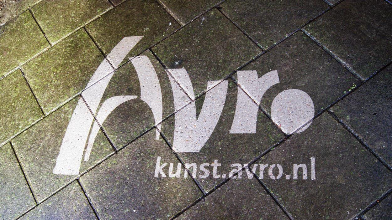AVRO Street-art month - Reverse graffiti