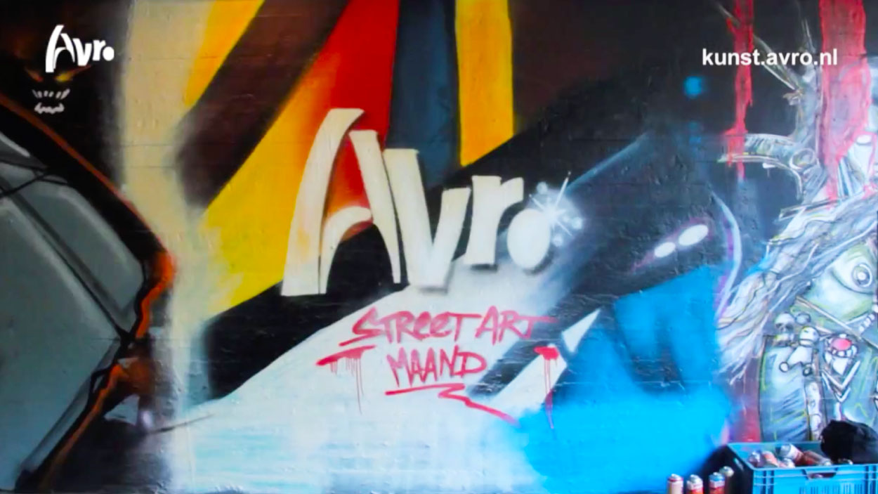 AVRO Street-art month