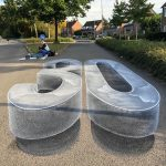 3d street painting as an optical illusion