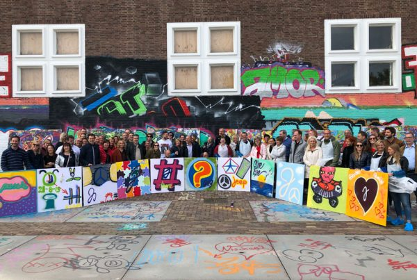 Graffiti workshops at NDSM in Amsterdam