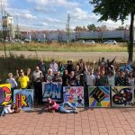 Graffiti workshops als teambuilding uitje
