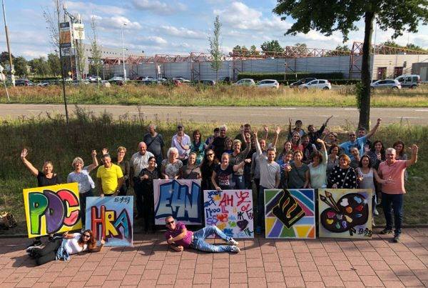 Graffiti-Workshops als Teambuilding-Ausflug