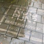 Omvänd graffiti reklam