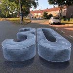 Campagne de sensibilisation à la peinture de rue en 3D
