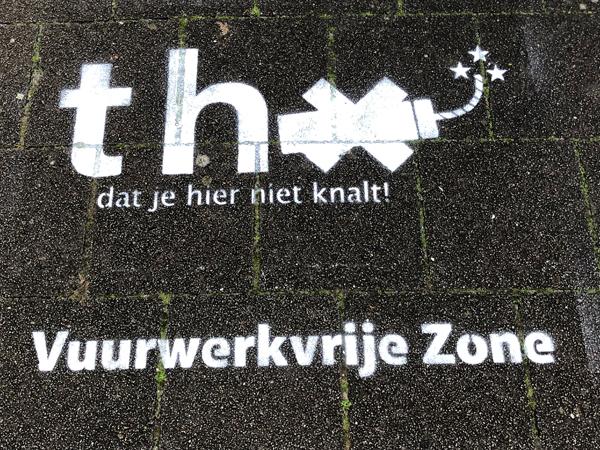 Vuurwerk campagne gemeente Utrecht