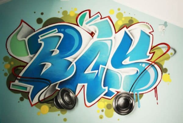 Graffiti room Bas
