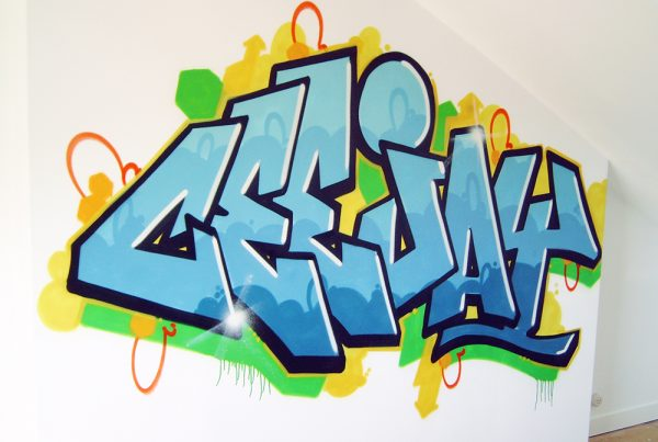 Ceejay graffiti wall