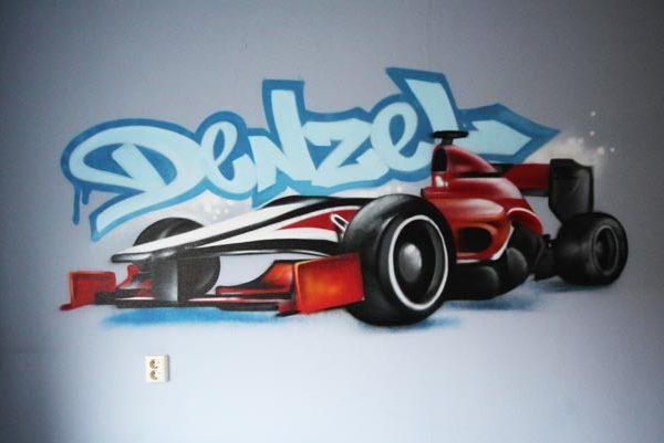 丹泽尔和赛车儿童房