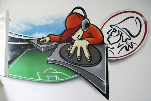Disc jockey y Ajax