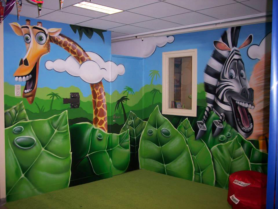 幼儿园壁画