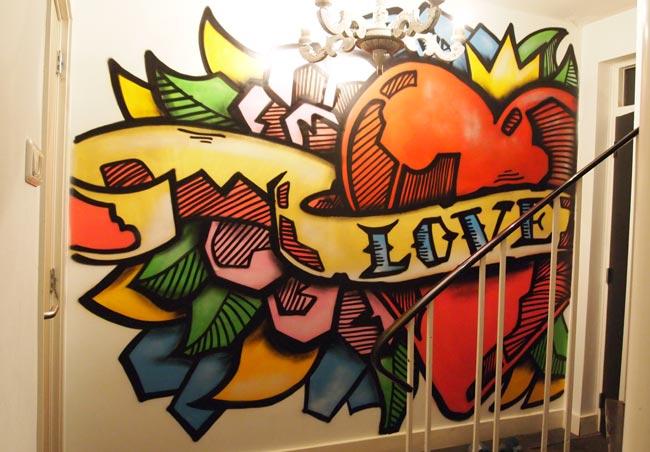 L'amour de la peinture