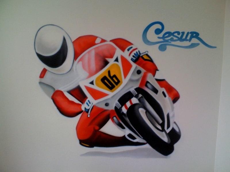 Graffiti målning Cesur