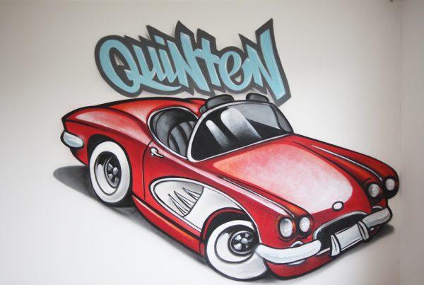 كوينتين والسيارات