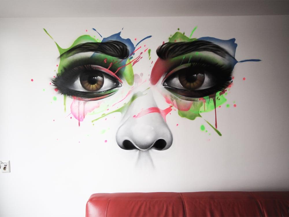 وجه فن الشارع