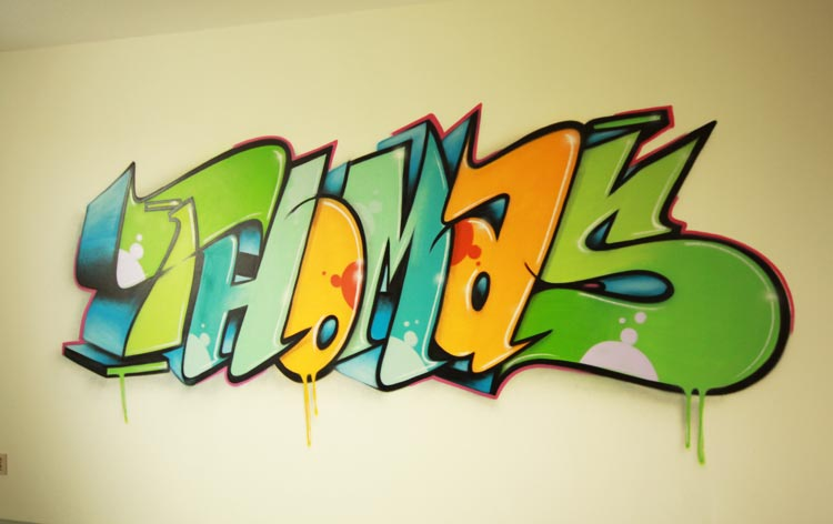 Graffiti room Thomas