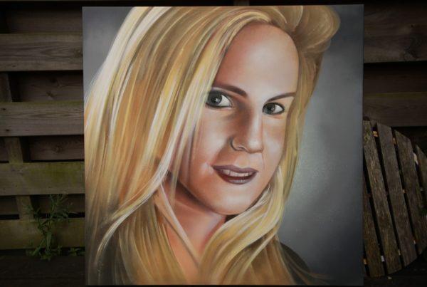 Graffiti maleri Ton