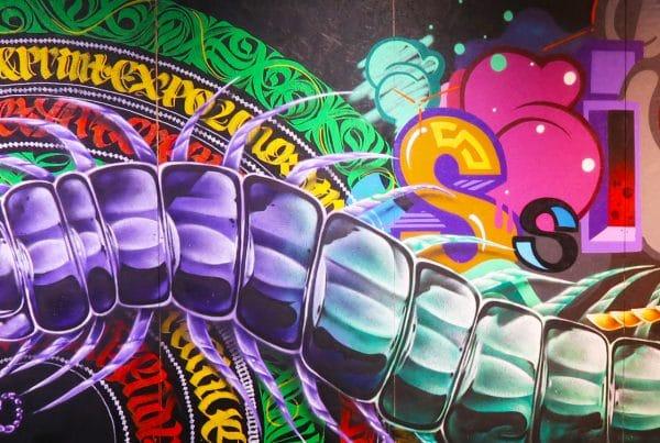 ¿Contratando a un artista de graffiti?