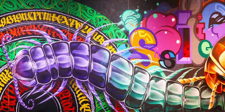 Anställer en graffitikonst?