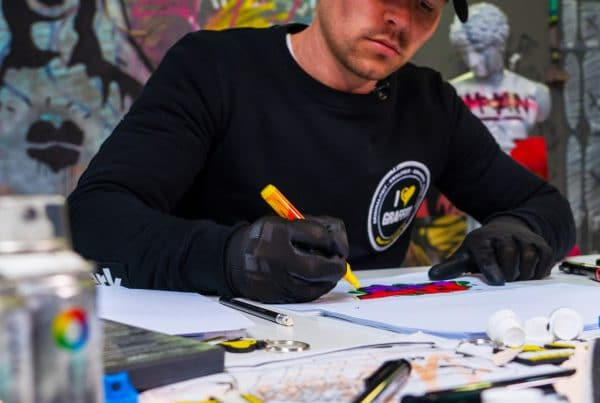 Machen Sie selbst Graffiti