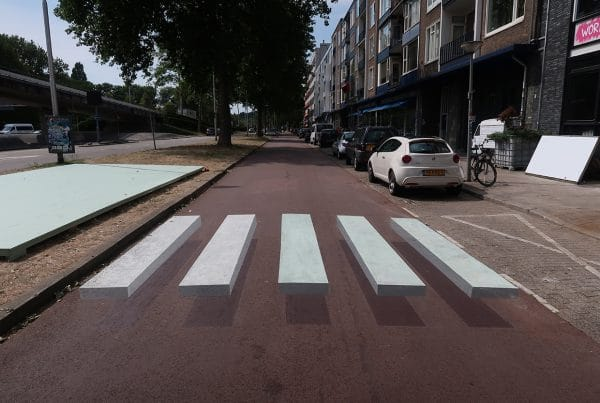 3d / floating crosswalk