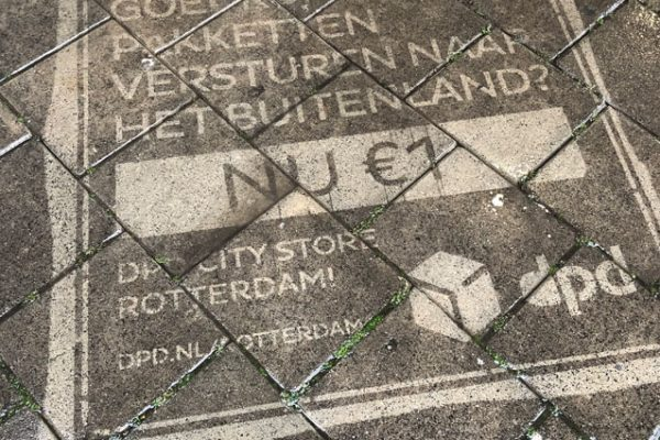 Greengraffiti campaign DPD