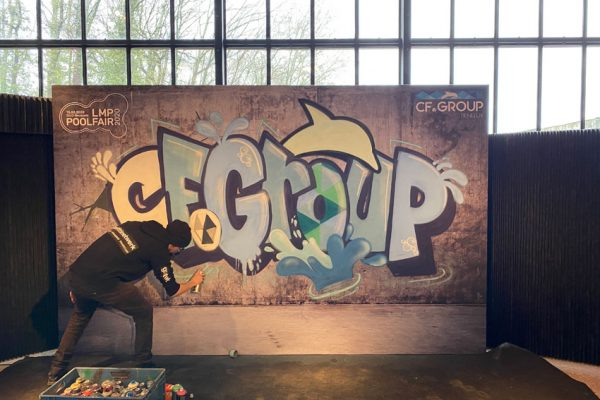 Graffiti underholdning LMP Poolfair 2020