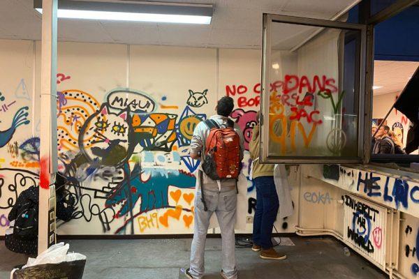 Street-art workshop Kanal Brussels