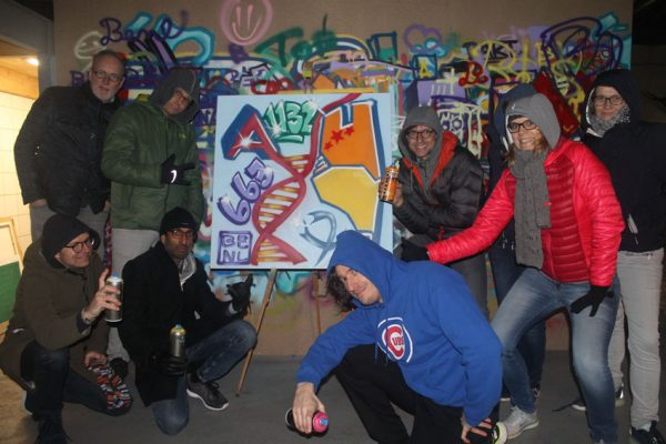 Graffiti firma udflugt Alnylam