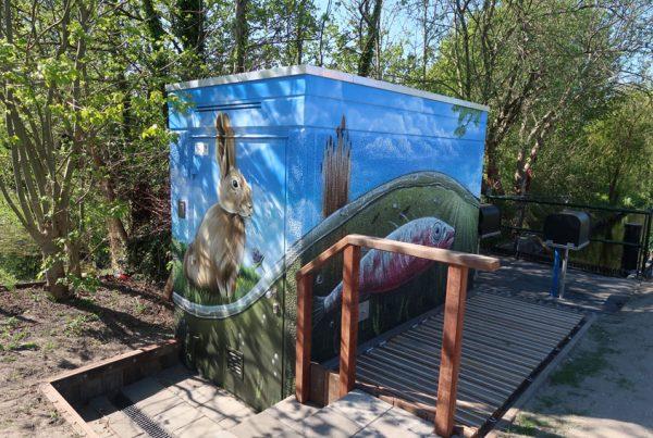 Peinture maison électrique Delfland