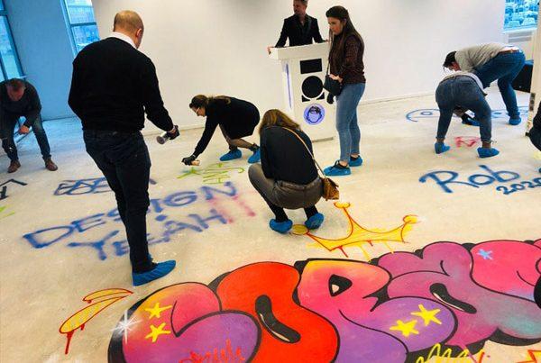 Evento de arte de rua Coram