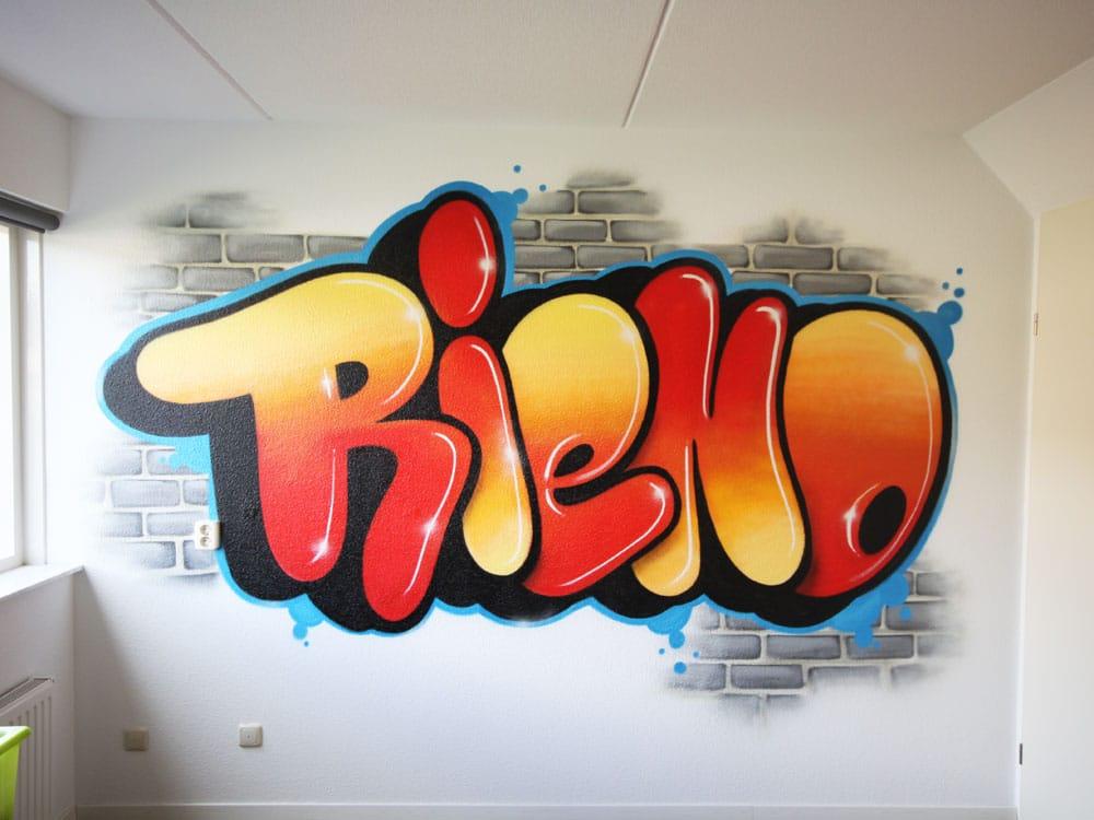 Rieno som et graffiti navn
